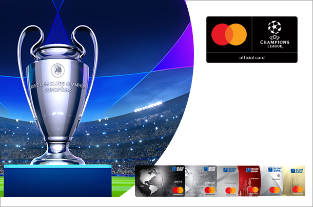 BLOM Bank and Mastercard launched the UEFA Champions League Campaign