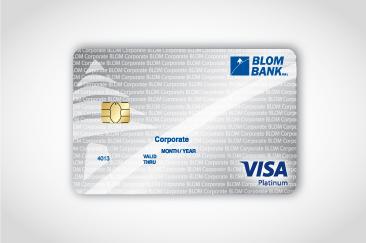 blom visa platinum corporate card - Visa Corporate Card