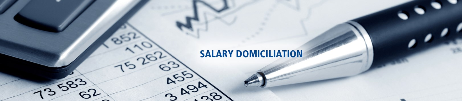 Salary Domiciliation