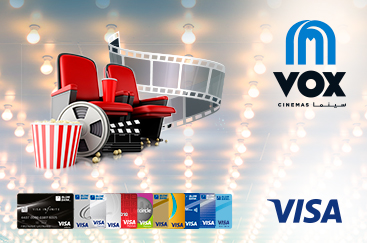 Pay with your BLOM Visa card on Wednesdays and get two tickets for the price of one