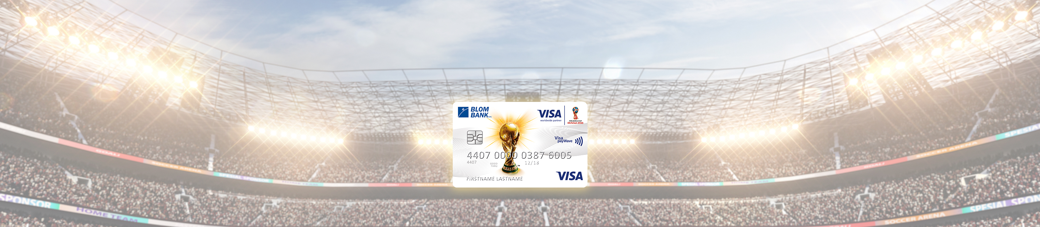 BLOM Visa 2018 FIFA World Cup Russia™ Classic Credit Card