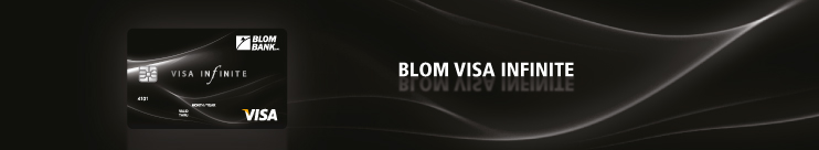 BLOM Visa Infinite Card