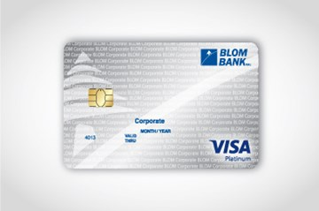 BLOM Visa Platinum Corporate Card