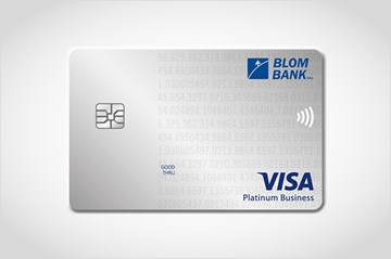 BLOM Visa Platinum Business Card