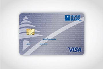 BLOM Visa Classic Corporate Card