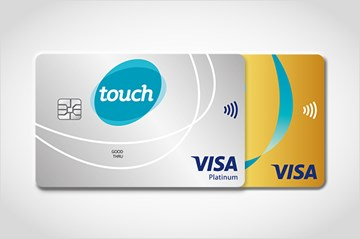 The touch Credit Cards