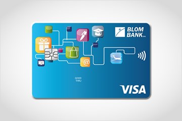 BLOM Visa Mini Card